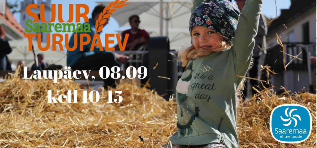 Suur Turupäev,  laupäev 08.09 kell 10.00-15.00!