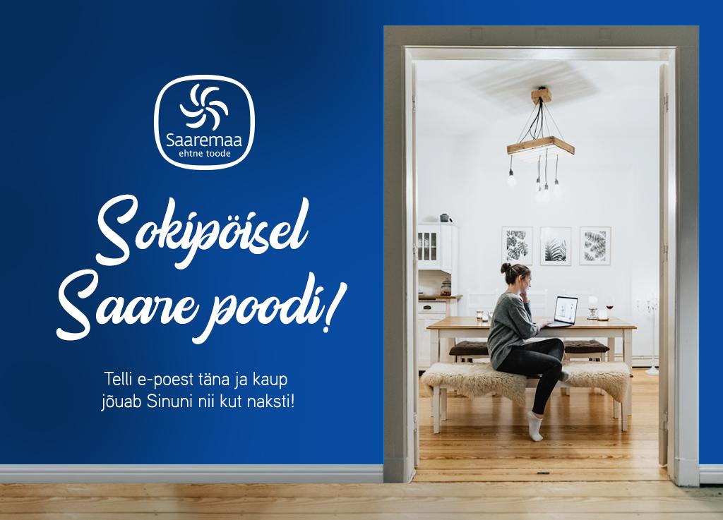 """Telli toit koju – """"EHTNE"""" Saaremaa e-pood nüüd avatud"""